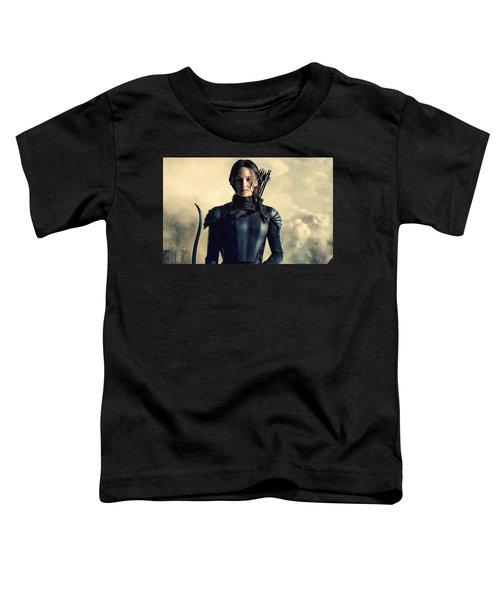 Jennifer Lawrence The Hunger Games  2012 Publicity Photo Toddler T-Shirt