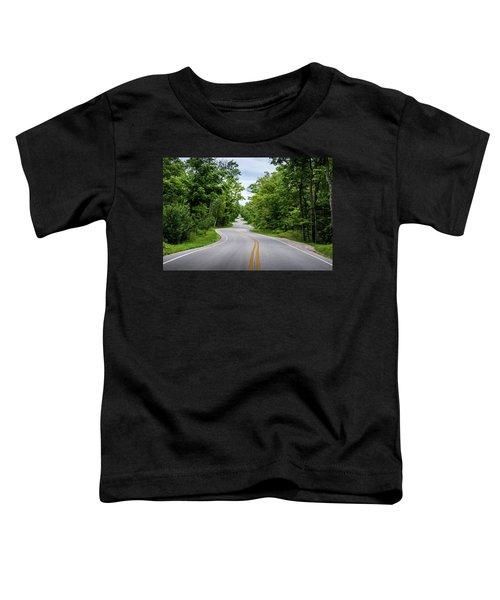Jens Jensen's Winding Road Toddler T-Shirt