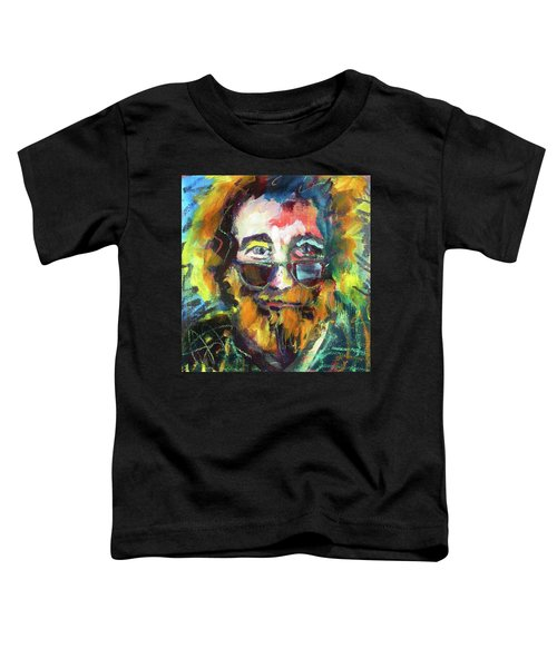 Jerry Garcia Toddler T-Shirt
