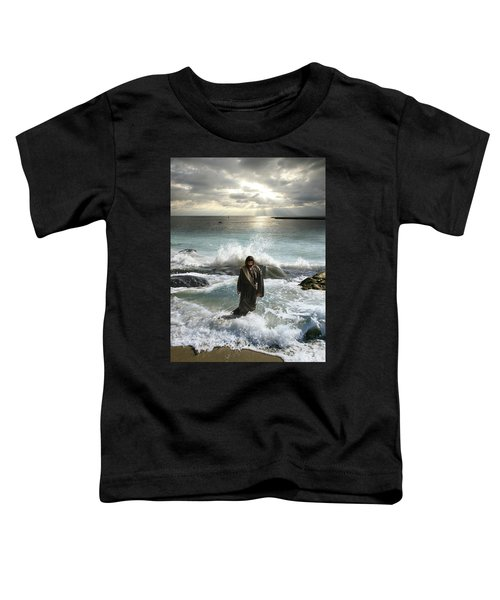 Jesus Christ- I Have Come As A Light Into The World Toddler T-Shirt