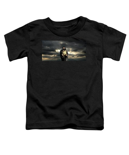Jesus In The Clouds Toddler T-Shirt