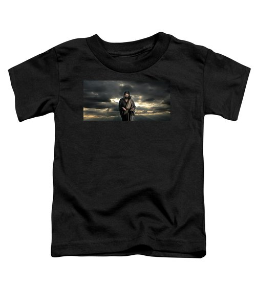 Jesus In The Clouds With Glory Toddler T-Shirt