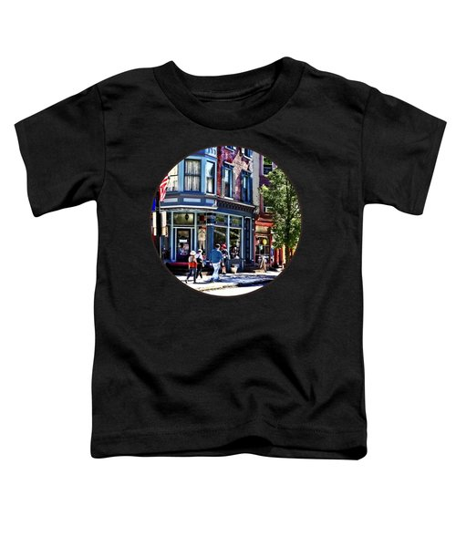 Jim Thorpe Pa - Window Shopping Toddler T-Shirt