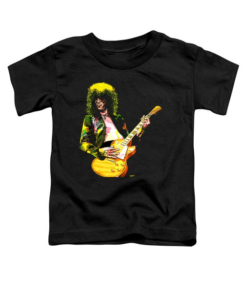 Jimmy Page Of Led Zeppelin Toddler T-Shirt