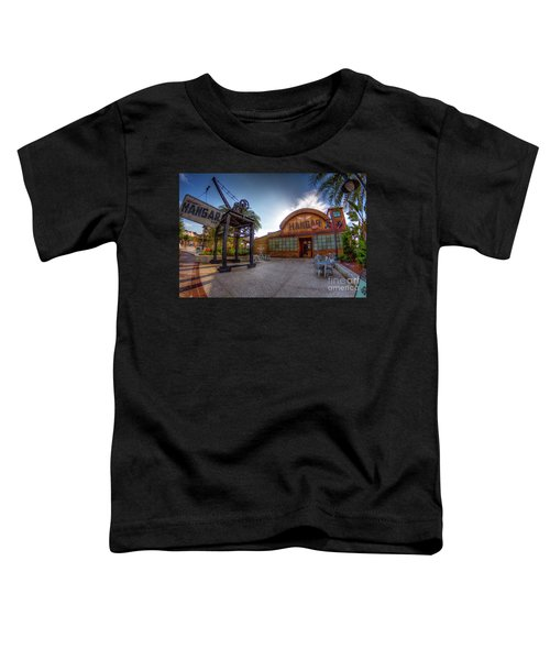 Jock Lindsey's Hangar Bar Toddler T-Shirt