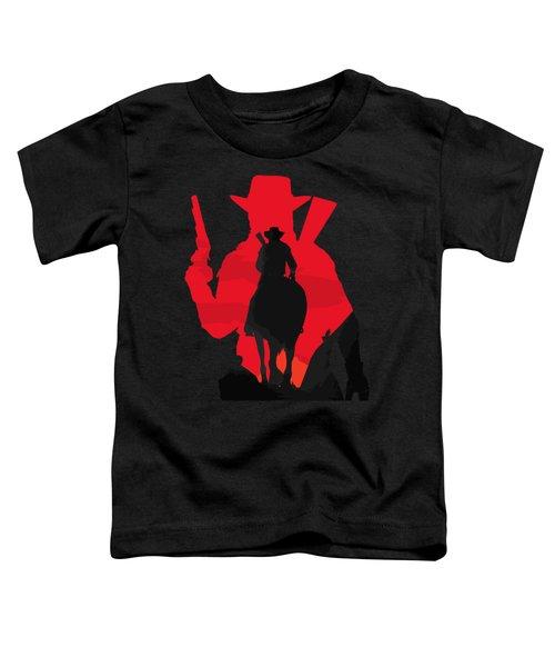 John Marston Silhouette Toddler T-Shirt