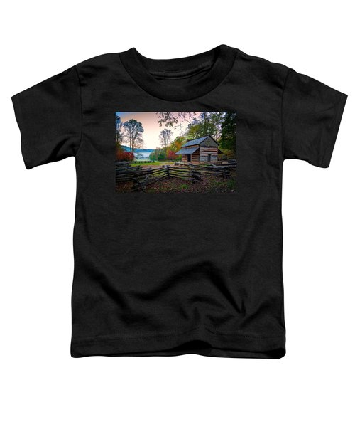 John Oliver Place In Cades Cove Toddler T-Shirt