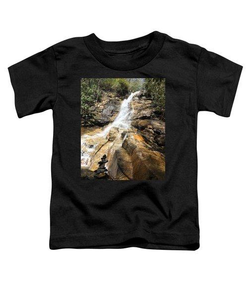 Jones Gap Falls And Monument Toddler T-Shirt