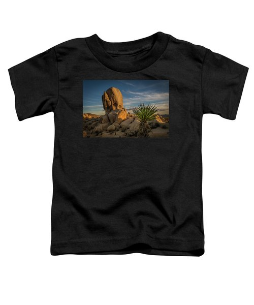 Joshua Tree Rock Formation Toddler T-Shirt