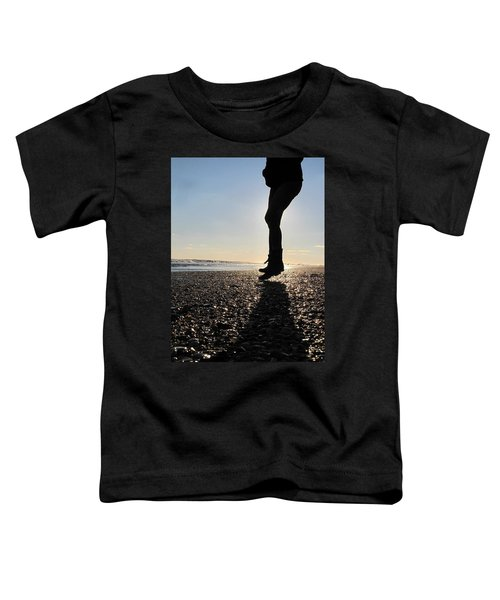 Jumping In The Sand Toddler T-Shirt