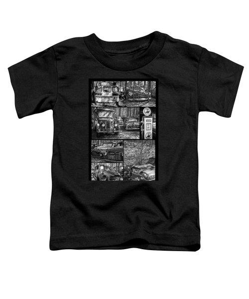 Junk Yard Cars Toddler T-Shirt