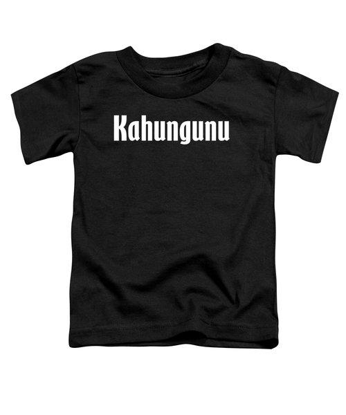 Kahungunu Toddler T-Shirt