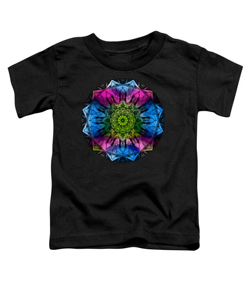 Kaleidoscope - Colorful Toddler T-Shirt