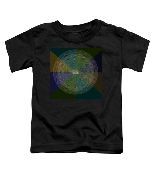 Kaleidoscope Eye Toddler T-Shirt