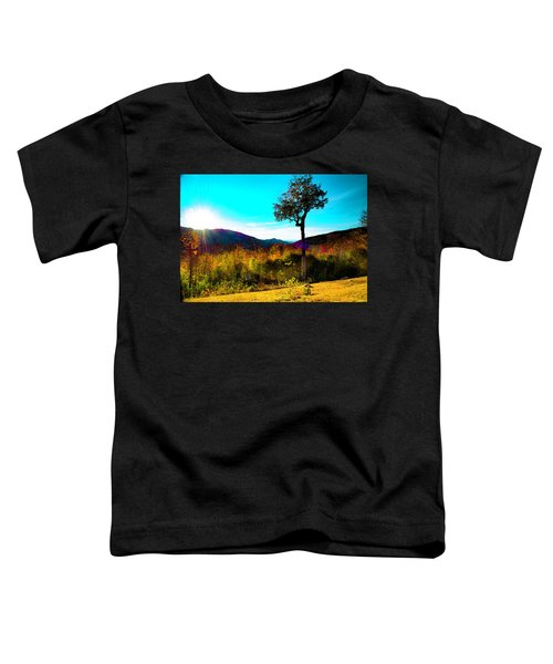 Kancamagus Sunset Toddler T-Shirt