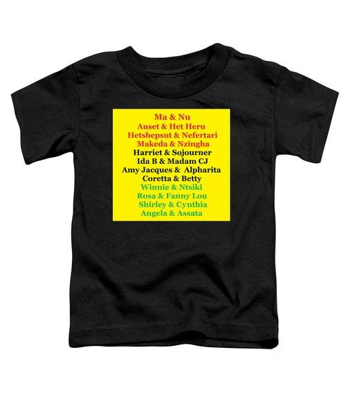 Kandaki Ma 3 Toddler T-Shirt