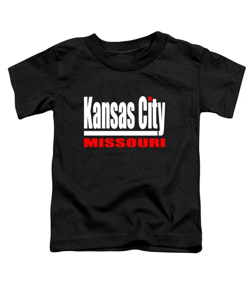 Kansas City Missouri Design Toddler T-Shirt