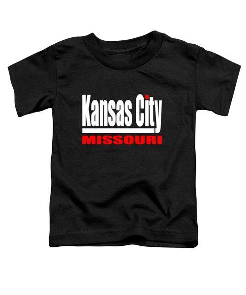 Kansas City Missouri Design Toddler T-Shirt