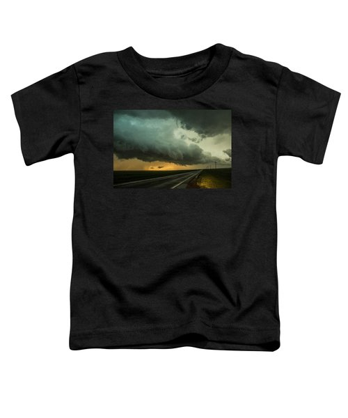 Kansas Storm Chase Bust Day 004 Toddler T-Shirt