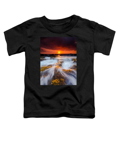 Keahole Point Sunset Toddler T-Shirt