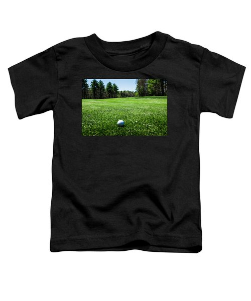 Keep Your Eye On The Ball Toddler T-Shirt