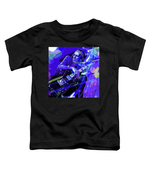 Keith Richards Blue Toddler T-Shirt