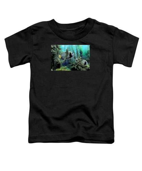 Kelp And Queen Anglefish Toddler T-Shirt