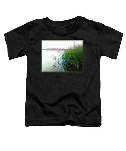Kennersley Pt Marina - Use Red/cyan 3d Glasses Toddler T-Shirt