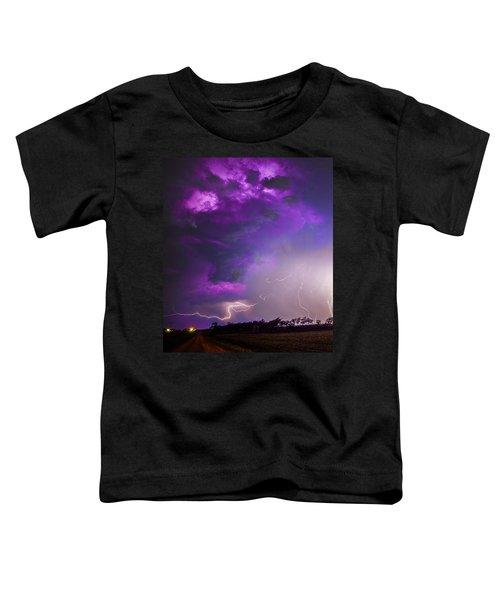 Kewl Nebraska Cg Lightning And Krawlers 038 Toddler T-Shirt