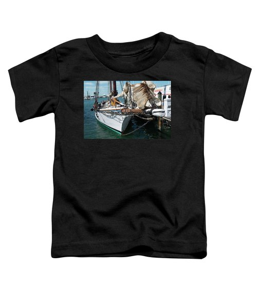 Key West Appledore Sailboat Toddler T-Shirt
