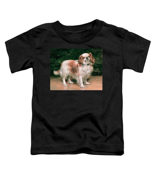 King Charles Spaniel Toddler T-Shirt