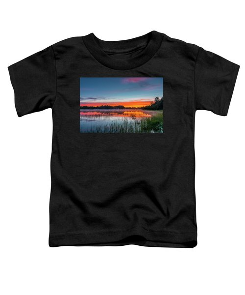 Kingston Lake Sunset Toddler T-Shirt