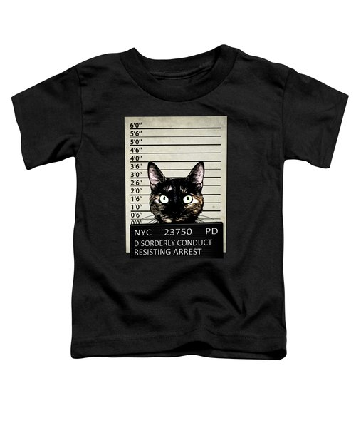 Kitty Mugshot Toddler T-Shirt