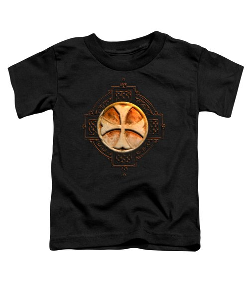 Knights Templar Symbol Re-imagined By Pierre Blanchard Toddler T-Shirt