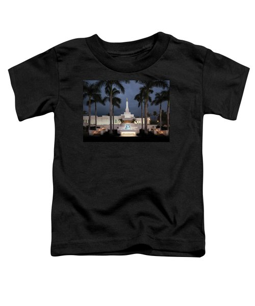 Kona Hawaii Temple-night Toddler T-Shirt