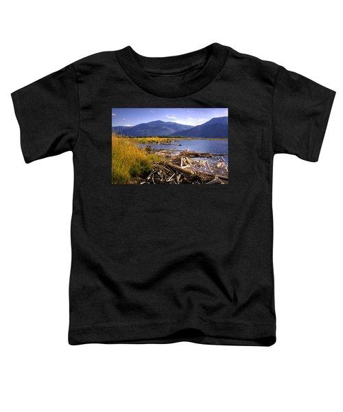 Kootenai Lake Bc Toddler T-Shirt