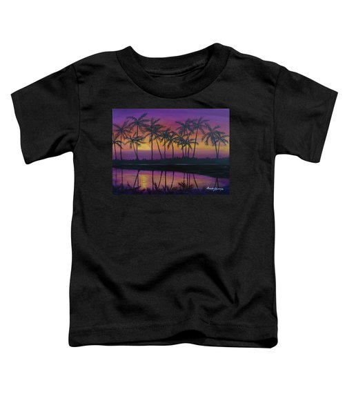 Kristine's Sunset Toddler T-Shirt