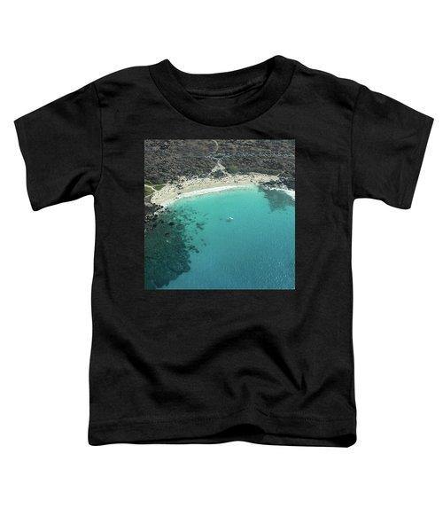 Kua Bay Aerial Toddler T-Shirt
