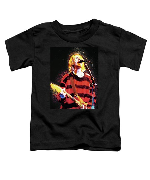 Kurt Cobain Toddler T-Shirt