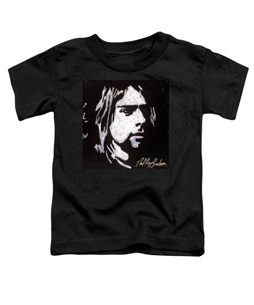 Kurt Kobain Toddler T-Shirt