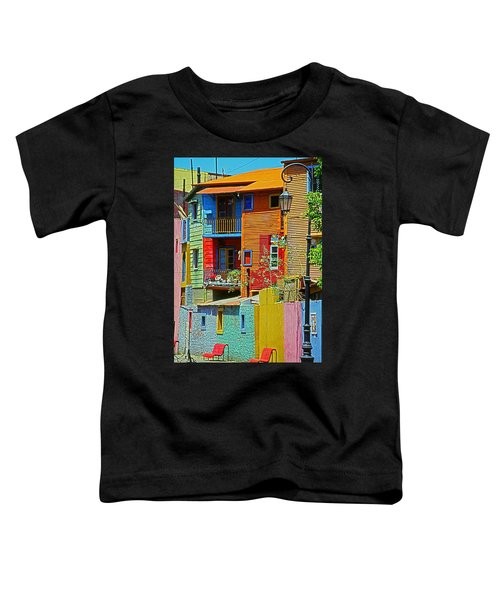 La Boca - Buenos Aires Toddler T-Shirt