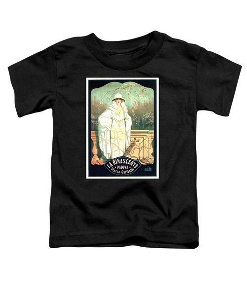 La Rinascente - Italian Store - Vintage Advertising Poster Toddler T-Shirt