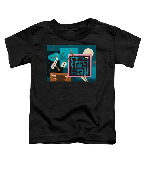 Labyrinth Night Toddler T-Shirt