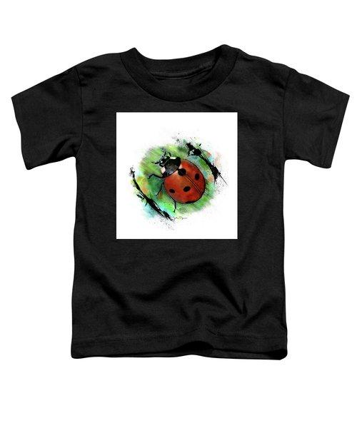 Ladybug Drawing Toddler T-Shirt