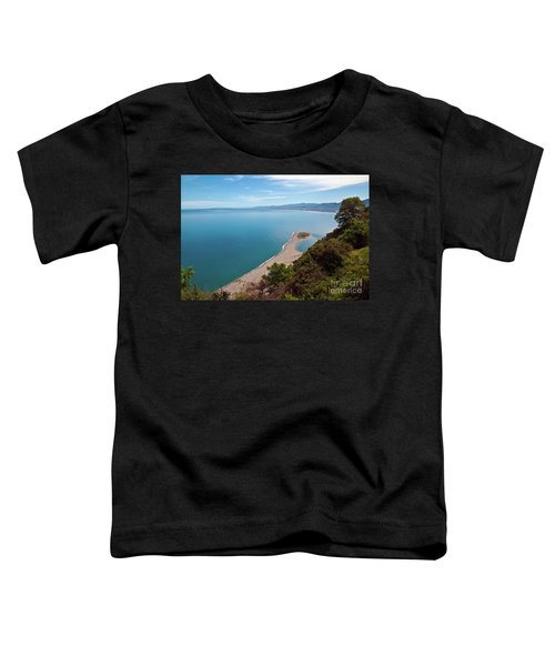 Lagoon Of Tindari On The Isle Of Sicily  Toddler T-Shirt