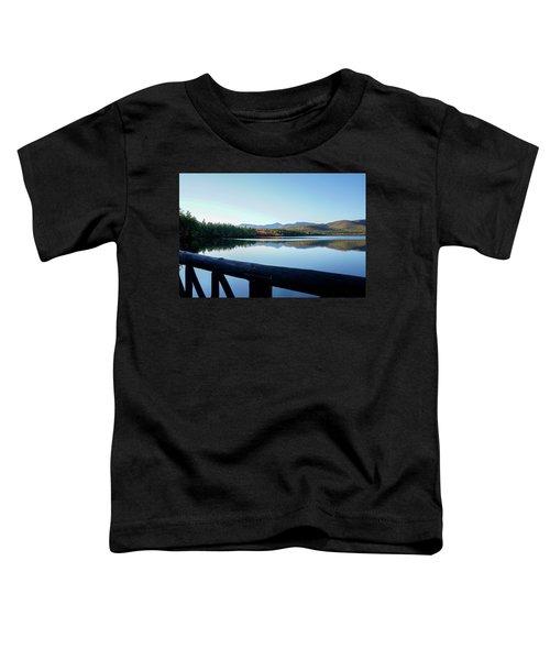 Lake Chocorua Autumn Toddler T-Shirt