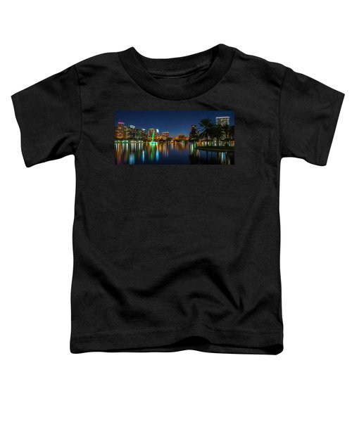 Lake Eola Orlando Toddler T-Shirt