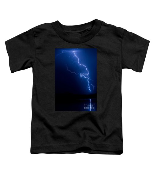 Lake Lightning Strike Toddler T-Shirt