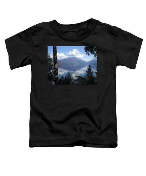 Lake Mcdonald Glacier National Park Toddler T-Shirt