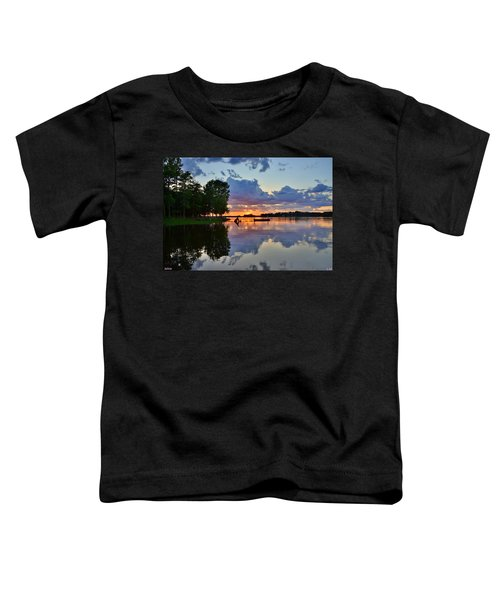 Lake Murray Sc Reflections Toddler T-Shirt